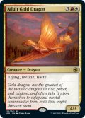 [日本語版]【FOIL/通常】《アダルト・ゴールド・ドラゴン/Adult Gold Dragon》(AFR)
