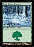 [日本語版/NM-]【FOIL/通常】《冠雪の森/Snow-Covered Forest》(CSP)