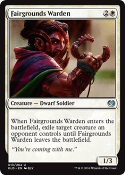 画像1: [英語版]《博覧会場の警備員/Fairgrounds Warden》(KLD)