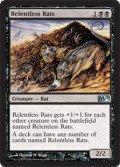 [日本語版/NM-]【FOIL/通常】《執拗なネズミ/Relentless Rats》(M11)