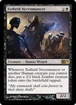 画像1: [英語版/NM-]《ザスリッドの屍術師/Xathrid Necromancer》(M14)