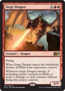画像1: [英語版]《包囲ドラゴン/Siege Dragon》(M15)