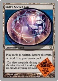 画像1: [英語版]《R&D's Secret Lair》(UNH)